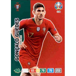 Gonçalo Guedes Portugal 278 Adrenalyn XL Euro 2020