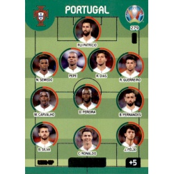 Line-Up Portugal 279 Adrenalyn XL Euro 2020