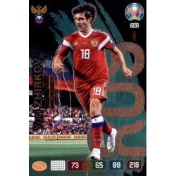 Yuri Zhirkov Fans' Favourite Russia 283 Adrenalyn XL Euro 2020