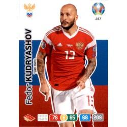 Fedor Kudryashov Russia 287 Adrenalyn XL Euro 2020