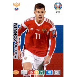 Roman Zobnin Russia 290 Adrenalyn XL Euro 2020