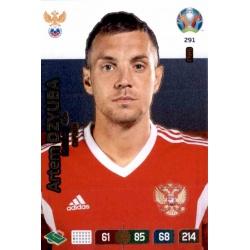 Artem Dzyuba Captain Russia 291 Adrenalyn XL Euro 2020