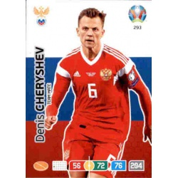 Denis Cheryshev Russia 293 Adrenalyn XL Euro 2020