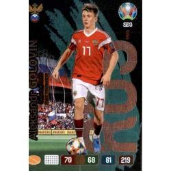Aleksandr Golovin Fans' Favourite Russia 294 Adrenalyn XL Euro 2020