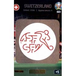Team Logo Switzerland 298 Adrenalyn XL Euro 2020