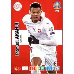 Manuel Akanki Switzerland 300 Adrenalyn XL Euro 2020