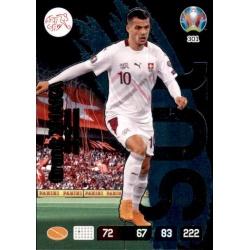 Granit Xhaka Fans' Favourite Switzerland 301 Adrenalyn XL Euro 2020