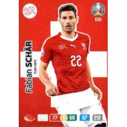 Fabian Schär Switzerland 302 Adrenalyn XL Euro 2020