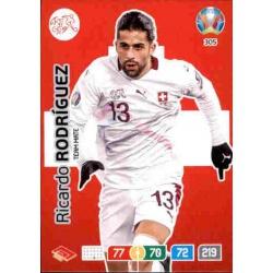 Ricardo Rodríguez Switzerland 305 Adrenalyn XL Euro 2020
