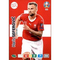 Haris Seferović Switzerland 311 Adrenalyn XL Euro 2020