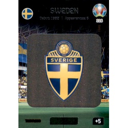 Team Logo Sweden 316 Adrenalyn XL Euro 2020