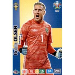 Robin Olsen Sweden 317 Adrenalyn XL Euro 2020