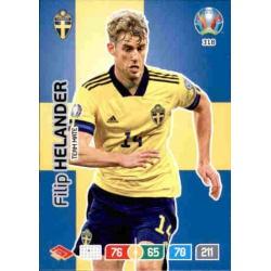 Filip Helander Sweden 318 Adrenalyn XL Euro 2020