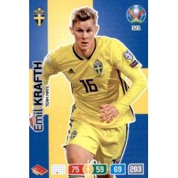 Emil Krafth Sweden 321 Adrenalyn XL Euro 2020
