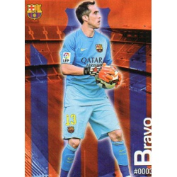Claudio Bravo Barcelona 3Las Fichas Quiz Liga 2016 Official Quiz Game Collection