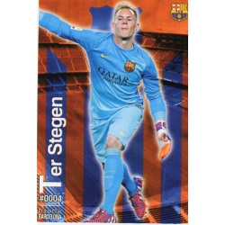 Ter Stegen Barcelona 4Las Fichas Quiz Liga 2016 Official Quiz Game Collection