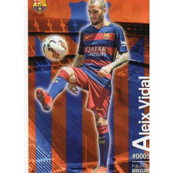 Aleix Vidal Barcelona 5Las Fichas Quiz Liga 2016 Official Quiz Game Collection