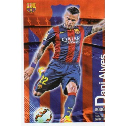 Dani Alves Barcelona 6Las Fichas Quiz Liga 2016 Official Quiz Game Collection