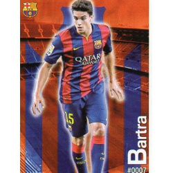 Marc Bartra Barcelona 7Las Fichas Quiz Liga 2016 Official Quiz Game Collection