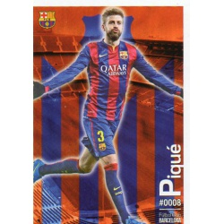 Gerard Piqué Barcelona 8Las Fichas Quiz Liga 2016 Official Quiz Game Collection