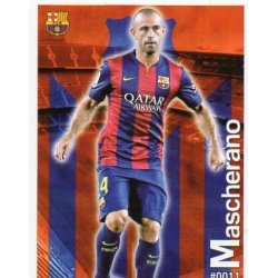 Mascherano Barcelona 11Las Fichas Quiz Liga 2016 Official Quiz Game Collection