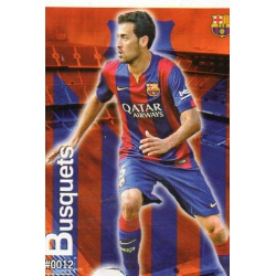 Sergio Busquets Barcelona 12Las Fichas Quiz Liga 2016 Official Quiz Game Collection