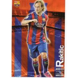 Ivan Rakitic Barcelona 13 Las Fichas Quiz Liga 2016 Official Quiz Game Collection