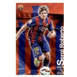 Sergi Roberto Barcelona 14 Las Fichas Quiz Liga 2016 Official Quiz Game Collection