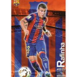 Rafinha Barcelona 15 Las Fichas Quiz Liga 2016 Official Quiz Game Collection