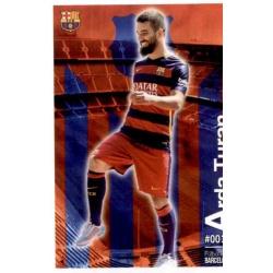 Arda Turan Barcelona 19 Las Fichas Quiz Liga 2016 Official Quiz Game Collection