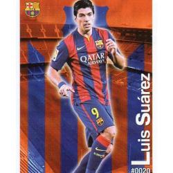 Luis Suárez Barcelona 20 Las Fichas Quiz Liga 2016 Official Quiz Game Collection