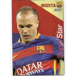 Iniesta Superstar Barcelona 27 Las Fichas Quiz Liga 2016 Official Quiz Game Collection