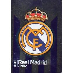 Escudo Real Madrid 28 Las Fichas Quiz Liga 2016 Official Quiz Game Collection