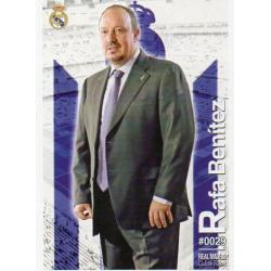 Rafa Benitez Real Madrid 29 Las Fichas Quiz Liga 2016 Official Quiz Game Collection