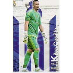 Kiko Casilla Real Madrid 30 Las Fichas Quiz Liga 2016 Official Quiz Game Collection