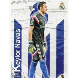 Keylor Navas Real Madrid 31 Las Fichas Quiz Liga 2016 Official Quiz Game Collection