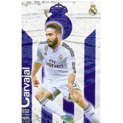 Carvajal Real Madrid 32 Las Fichas Quiz Liga 2016 Official Quiz Game Collection