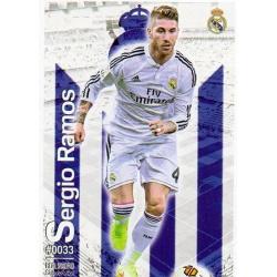 Sergio Ramos Real Madrid 33 Las Fichas Quiz Liga 2016 Official Quiz Game Collection