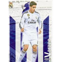 Varane Real Madrid 34 Las Fichas Quiz Liga 2016 Official Quiz Game Collection
