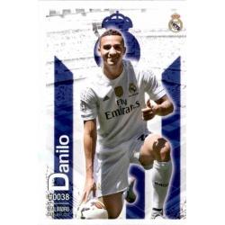 Danilo Real Madrid 38 Las Fichas Quiz Liga 2016 Official Quiz Game Collection