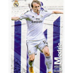 Modric Real Madrid 39 Las Fichas Quiz Liga 2016 Official Quiz Game Collection