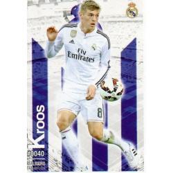 Kroos Real Madrid 40 Las Fichas Quiz Liga 2016 Official Quiz Game Collection