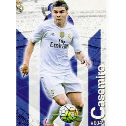 Casemiro Real Madrid 42 Las Fichas Quiz Liga 2016 Official Quiz Game Collection
