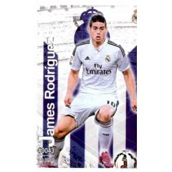 James Rodríguez Real Madrid 43 Las Fichas Quiz Liga 2016 Official Quiz Game Collection