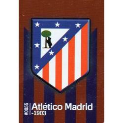 Escudo Atlético Madrid 55 Las Fichas Quiz Liga 2016 Official Quiz Game Collection