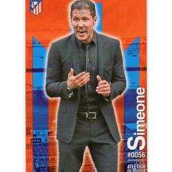 Diego Simeone Atlético Madrid 56 Las Fichas Quiz Liga 2016 Official Quiz Game Collection