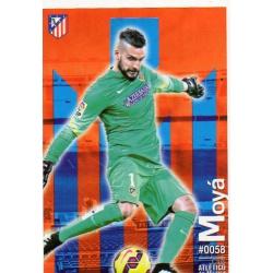 Moyá Atlético Madrid 58 Las Fichas Quiz Liga 2016 Official Quiz Game Collection