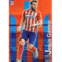 Jesús Gámez Atlético Madrid 59 Las Fichas Quiz Liga 2016 Official Quiz Game Collection