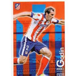 Godin Atlético Madrid 61 Las Fichas Quiz Liga 2016 Official Quiz Game Collection