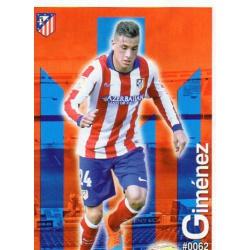 Giménez Atlético Madrid 62 Las Fichas Quiz Liga 2016 Official Quiz Game Collection